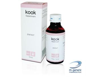 kook expectorant : propriétés, posologie, contre